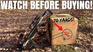 The 2 BEST CROSSBOWS For Under $400!!! ( Barnett Whitetail Hunter 2 & CenterPoint Sniper 370 )
