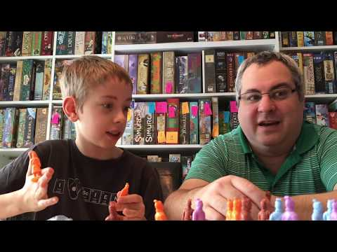 Xi'an Board Game Review!...with Justin and Max
