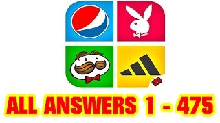 Guess Brand Logos - Logo Quiz All Level Answers 1 - 475 ( Goxal Studios )