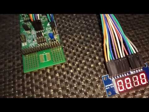 STM8S Timer Example - TIM2 PWM Captured by TIM1 Input