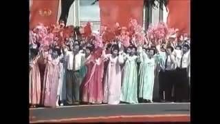 Визит Путина в Северную Корею КНДР 2000 год (Историческая съемка)
