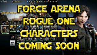 Star Wars: Force Arena - Krennic Jyn Erso Cassian K-2SO Coming Soon