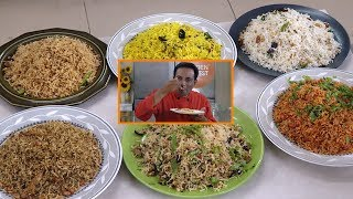 6 Easy Instant Rice Recipes - Golden Harvest - Lunch Box or Wedding Rice Recipes - Chitrannam
