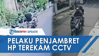 Bermodalkan Rekaman CCTV, Polisi Kejar Tiga Orang Pelaku Penjambretan HP Bocah di Jakarta Selatan