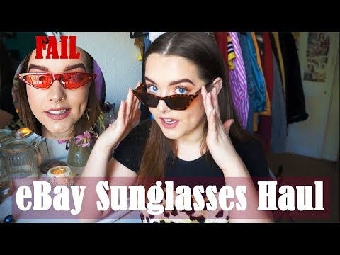 EBay Sunglasses Haul/Review 2018