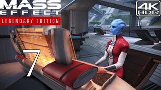 Mass Effect Legendary Edition  Walkthrough Gameplay and Mods pt7 - Asari Diplomacy 4K 60FPS HDR Insanity