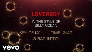 Billy Ocean   Loverboy (Karaoke)