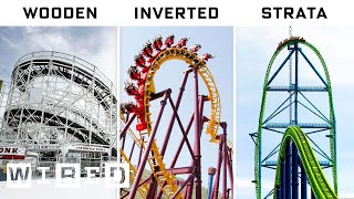 Engineer Explains Every Roller Coaster For Every Thrill | A World of Difference | WIRED