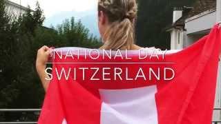 1. August Switzerland Brunnen