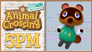"New Transcription: ""5PM"" from Animal Crossing: New Horizons (2020)"