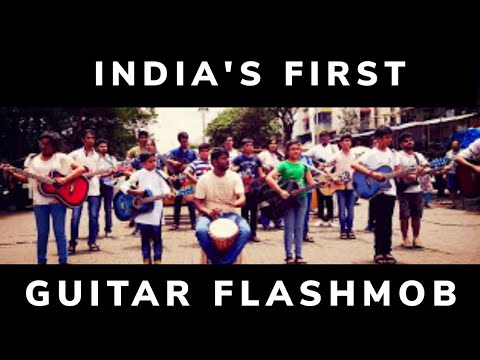 INDIA'S FIRST GUITAR FLASHMOB | DHROOV MULAY