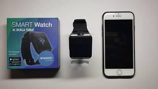 X30W SIM Smartphone Uhr mit SIM von X-WATCH