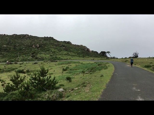 Der spanische Nordküstenweg oberhalb der Ria Ortigueira