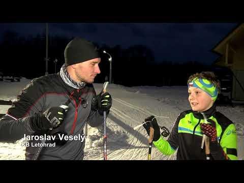 Běžecké lyžování s Vítkem Přindišem