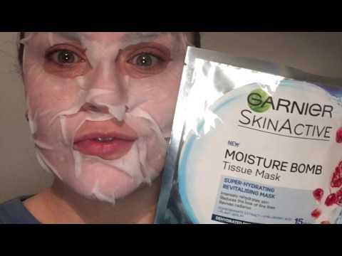 Mask out sa clay at lemon juice facial