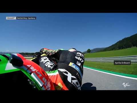 Aprilia Racing Team Gresini OnBoard: myWorld Motorrad Grand Prix von Österreich