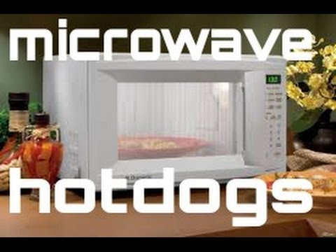 MAKING SOME MICROWAVE HAWTDOGS