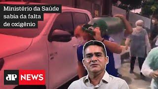 Prefeito de Manaus, David Almeida, fala das alternativas para minimizar crise na saúde