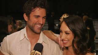 DWTS: Juan Pablo Di Pace & Cheryl Burke React to Elimination, Say They Deserved to Be in Finals