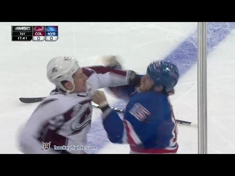Tanner Glass vs. Cody McLeod