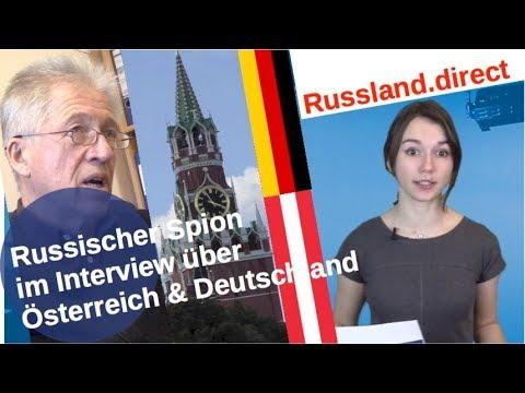 Russischer Spion im Interview zu Österreich & Deutschland [Video]
