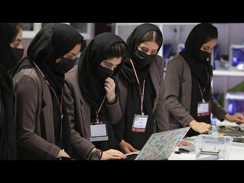 العرب اليوم - فريق الروبوتات الأفغاني النسائي