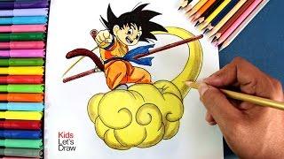 Dibujo Goku Nino Nube Paso A Paso Videos