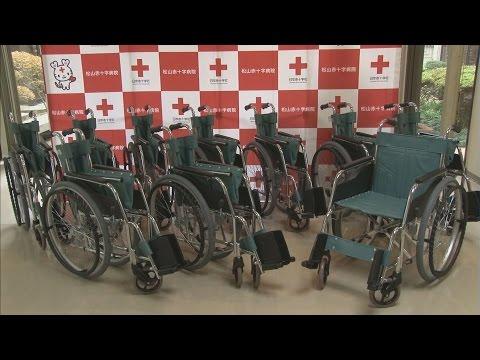 善意の車いす、病院に贈る 松山の幼稚園・愛媛新聞
