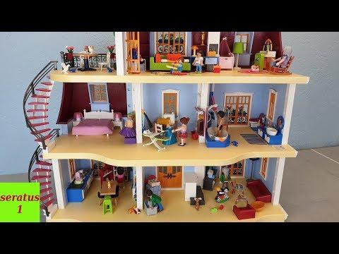 Playmobil Mein großes Puppenhaus 70205 komplett eingerichtet seratus1 Dollhouse