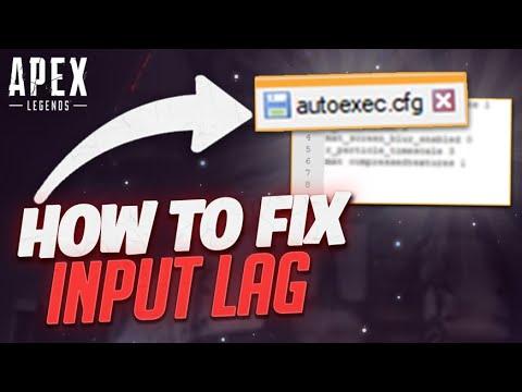HOW TO FIX INPUT LAG (AUTOEXEC.CFG SETTINGS)