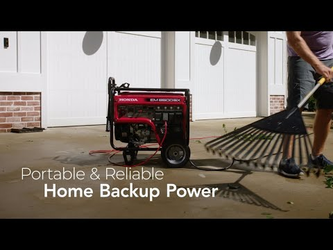 Honda Power Equipment EM6500SX with CO-MINDER in Elkhart, Indiana - Video 2