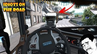 ★ IDIOTS On The Road #59 - ETS2MP   Funny Moments - Euro Truck Simulator 2 Multiplayer