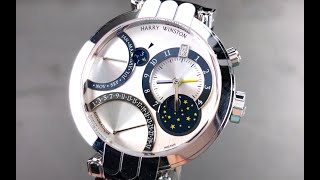 Harry Winston Premier Excenter Perpetual Calendar GMT 200-MAPC 41W Harry Winston Watch Review