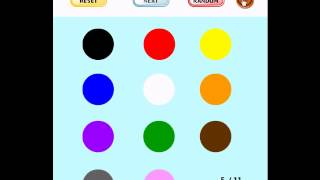 Learning Game for Kids - Find the Color