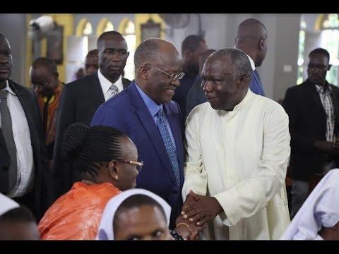Rais MAGUFULI Atuma Salamu za Pasaka kwa Maaskofu Wote Nchini