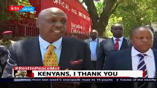 Gideon Moi thanks Kenyans who spared their time to pay last respect to Mzee Daniel Moi
