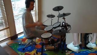 The Cult - Rain - drum cover