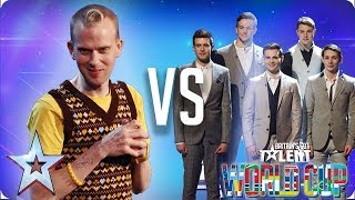 QUARTER FINALS: Robert White vs Collabro | Britain's Got Talent World Cup 2018 - Video Youtube
