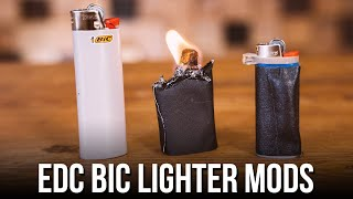 Bic Lighter Mods - Upgrade Your EDC In Seconds!