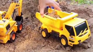Film Kartun Animasi Anak - Mainan Mobil Balap,Beko Excavator - Game Z129