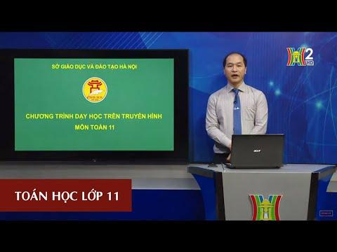 MÔN TOÁN HỌC - LỚP 11 | HAI MẶT PHẲNG VUÔNG GÓC ( TIẾT 1) | 16H30 NGÀY 23.04.2020 | HANOITV