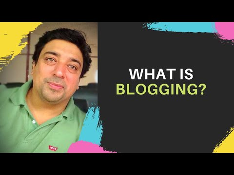 #1-Blogging Course - What is Blogging? - YouTube