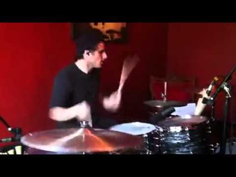 Zac Farro recording for the new demos