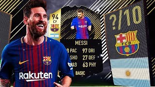 IF MESSI 94 - THE GREATEST STRIKER ON FIFA 18! - ( FIFA 18 ULTIMATE TEAM )