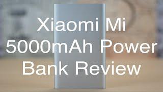 Xiaomi Mi 5000 mAh Power Bank Review!