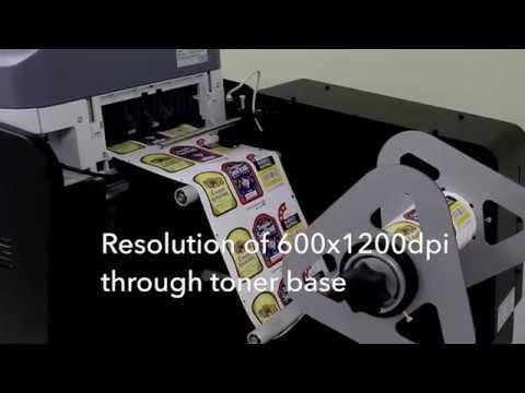 Digital Label Press Machine
