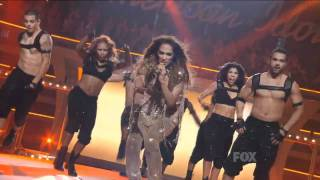 Jennifer Lopez Ft. Pitbull - Live On The Floor American Idol High Quality Mp3