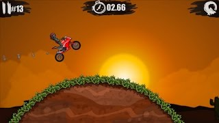 MOTO X3M Bike Racing Gameplay Video Android / iOS | First Levels