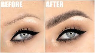 FLUFFY EYEBROWS TUTORIAL | UPDATED BROW ROUTINE