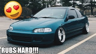 HOW TO GET PERFECT FITMENT ON A CIVIC!